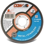 "CGW 5"" Cut Off Wheels for Steel/Stainless Steel"