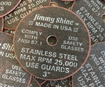 "3"" Jimmy Shine ""Death Wheel"" Cut Off Wheel *Made in USA*"