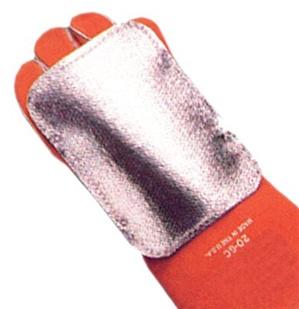 Welding Glove Heat Shield W 2 Straps Abch 2